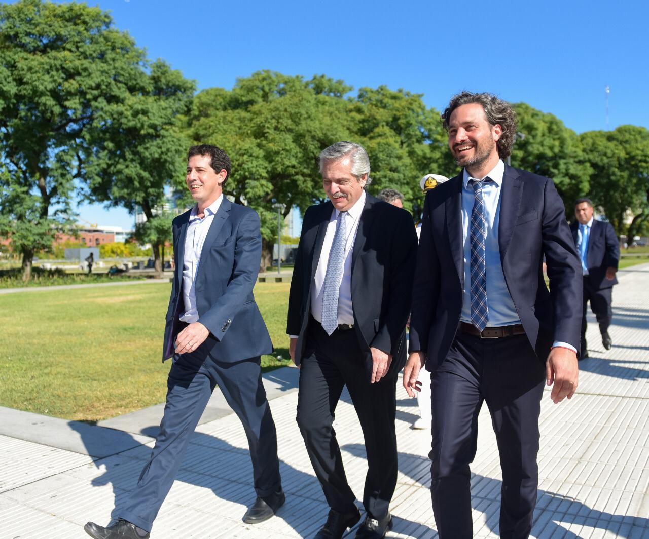 El Presidente encomendó a Cafiero y De Pedro las reuniones con los mandatarios provinciales