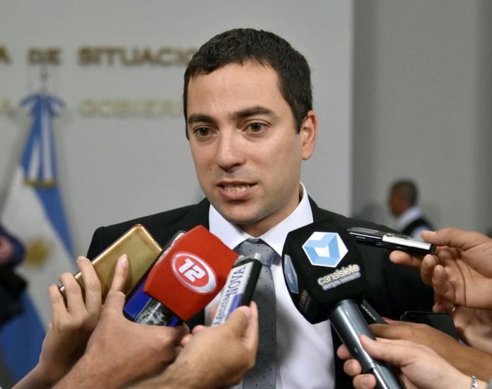 Andrés Giacomone, Fiscal de Estado Chubut