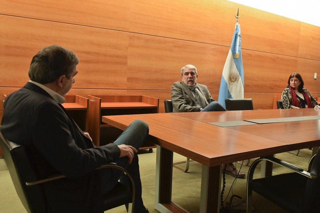 En la reunión estuvieron presentes la presidenta del CONICET, Ana Franchi; el secretario de Planeamiento y Políticas en Ciencia, Tecnología e Innovación, Diego Hurtado, y el subsecretario de Coordinación Institucional, Pablo Nuñez.