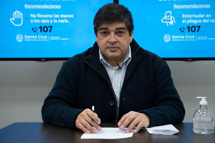 Claudio García, subsecretario de Salud Colectiva.