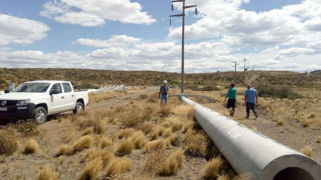 La provincia financia la obra que lleva adelante YPF Luz. FOTO ARCHIVO