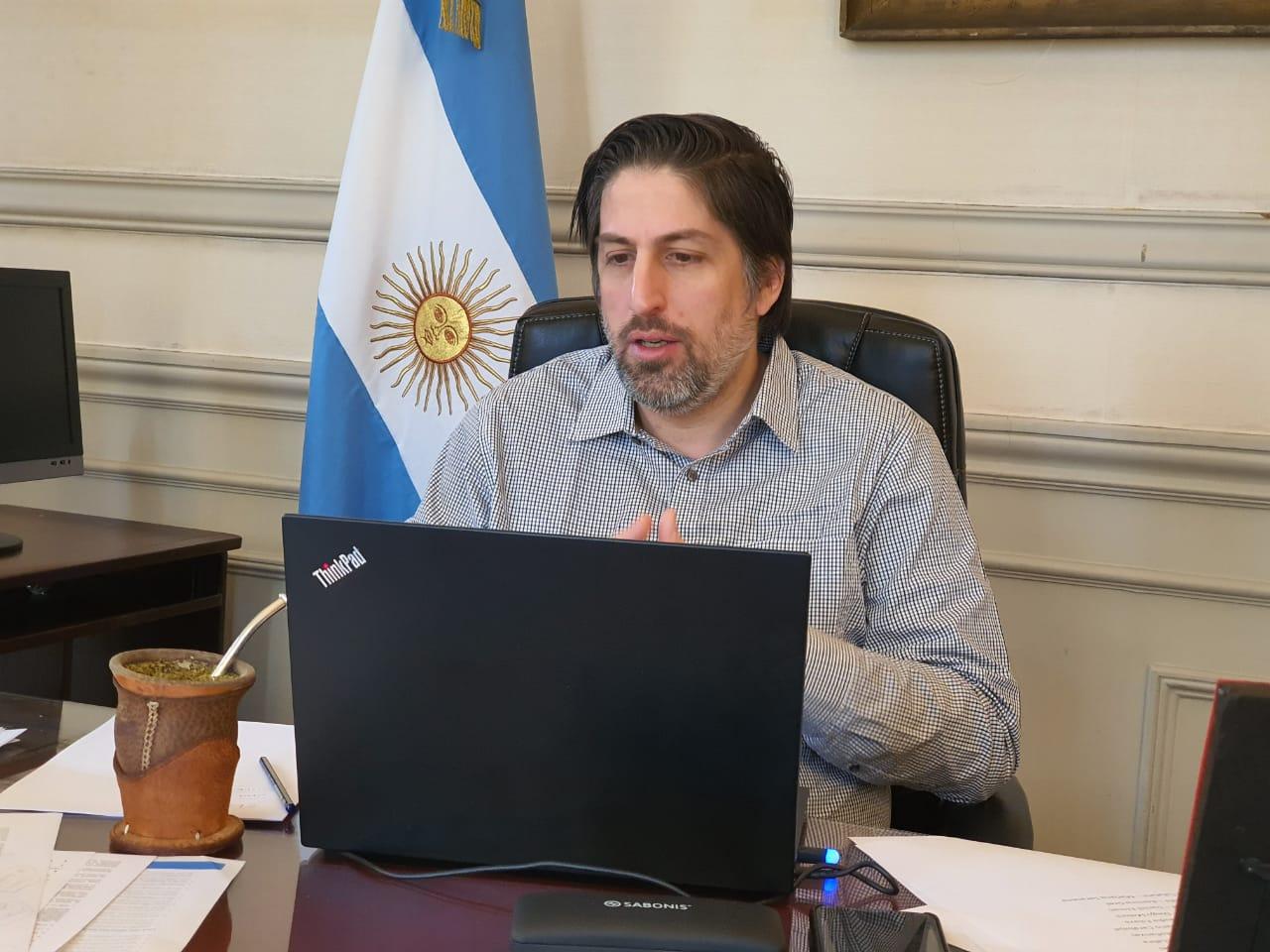 Días atrás, Trotta había dialogado con ministros de Educación del país para acordar un protocolo para la vuelta a clases. FOTO ARCHIVO