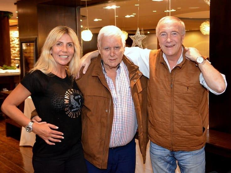 Osvaldo Neme, en el restaurante del Hotel Patagonia