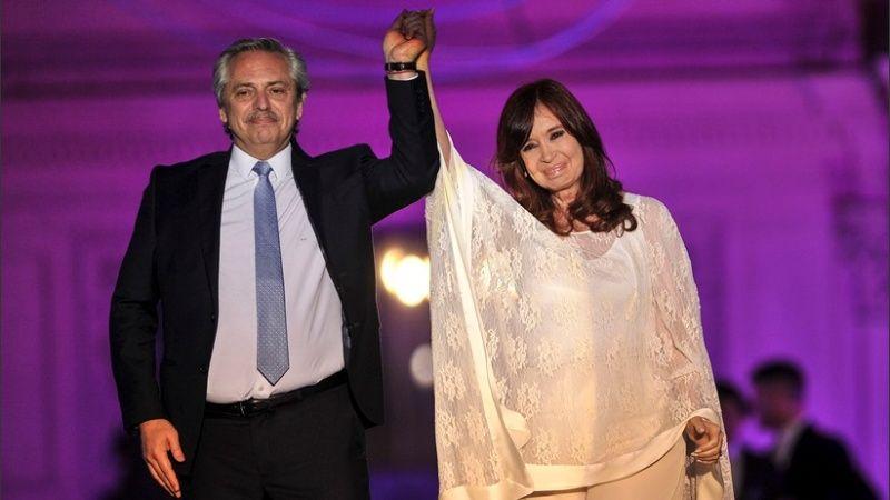 Alberto y Cristina, un mismo gobierno.