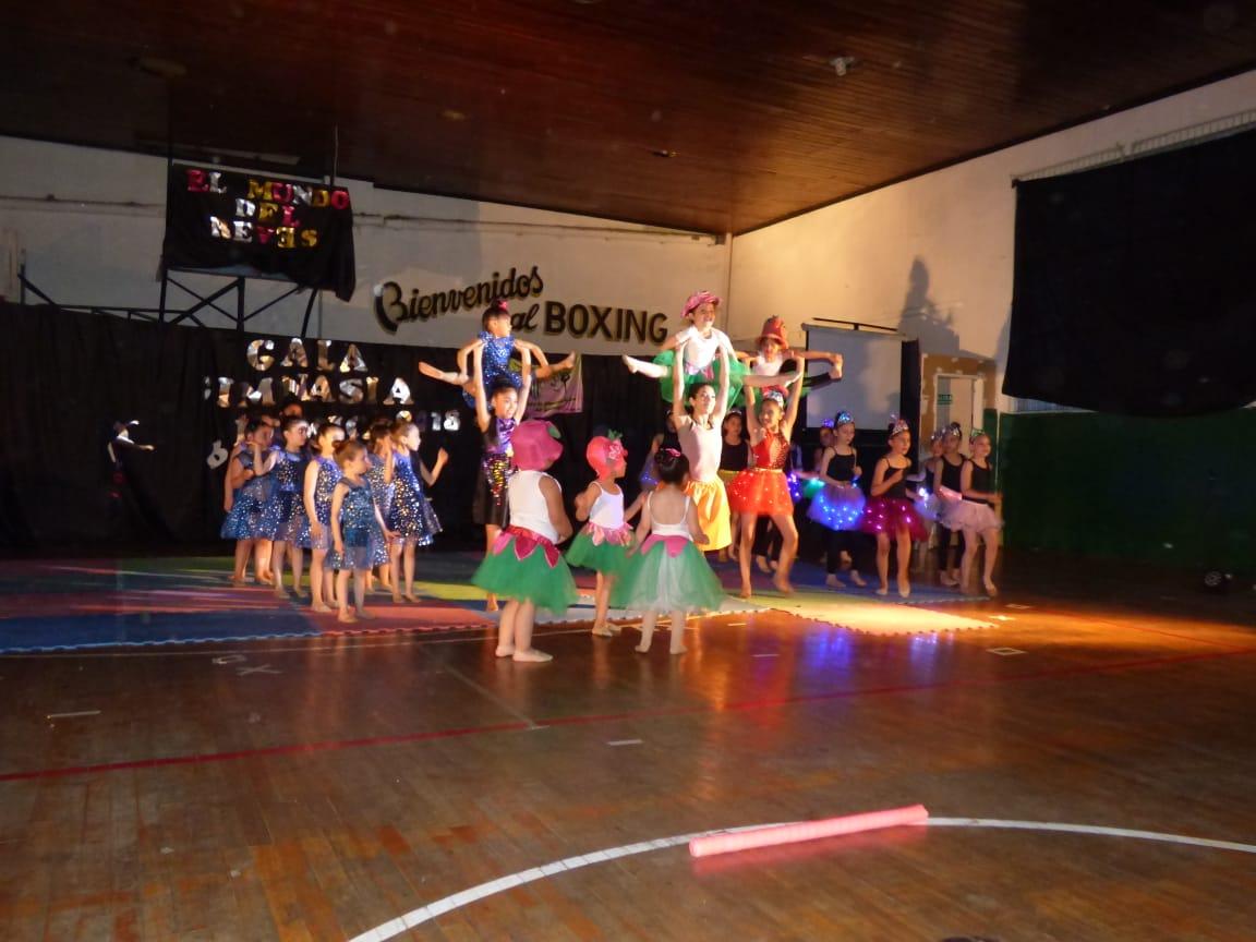 Primera Gala de la Escuela de Gimnasia Rítmica.