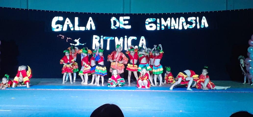 El grupo de 3, 4 y 5 años en la Gala 2019.