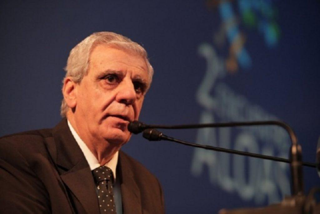José Luis Lingeri, secretario general del Sindicato Gran Buenos Aires de Trabajadores de Obras Sanitaria. Integrante de CATHEDA