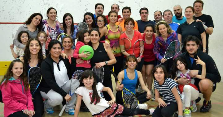 El squash del Atlético Boxing Club es el único representante provincial.