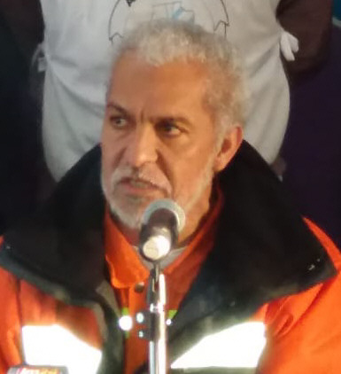 Luis González, referente del Centro de Jubilados de YCF - Río Gallegos