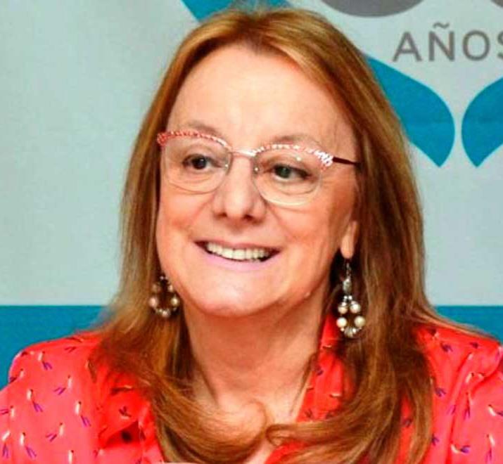 La gobernadora Alicia Kirchner