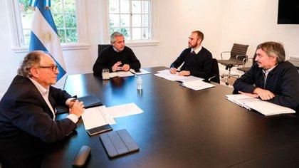 El destino del impuesto fue analizado, en su momento, con el presidente Alberto Fernández.