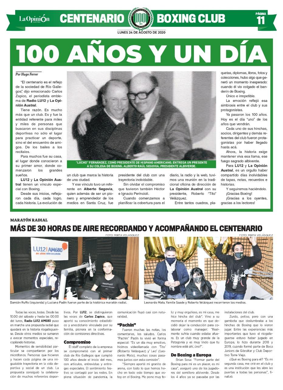 '100 años y un día'