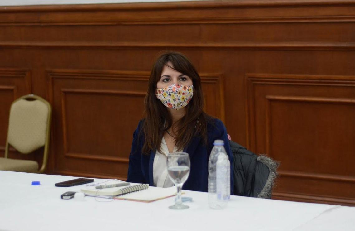 Ministra Silvina Córdoba.