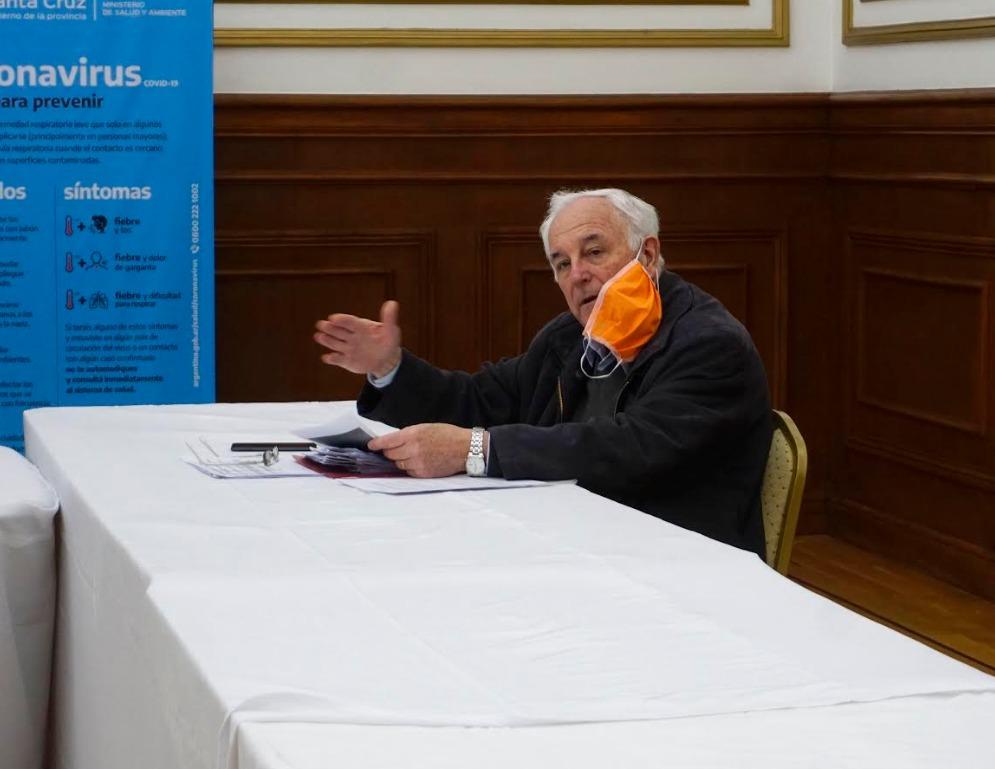 Ministro Juan Carlos Nadalich.
