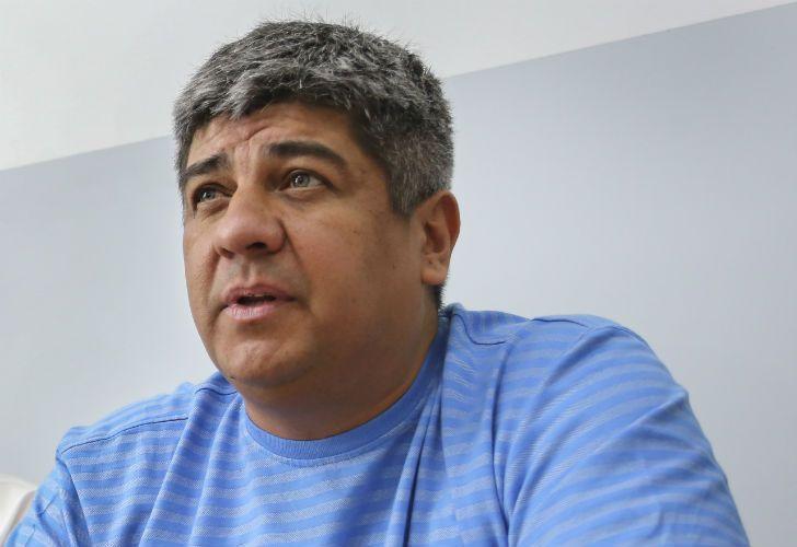 Pablo Moyano, Sindicato de Camioneros - Integrante de CATHEDA