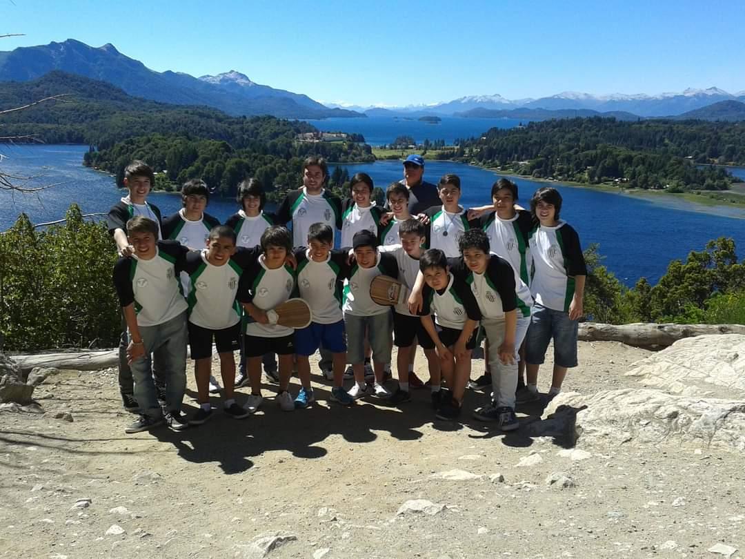 Selección de pelota a paleta en Bariloche 2012.