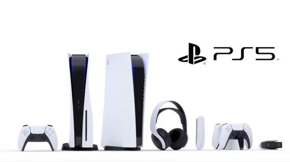 La PS5 junto con los nuevos accesorios de la consola.