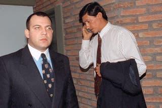 Los condenados, izquierda Guillermo Luque, derecha Luis Tula.