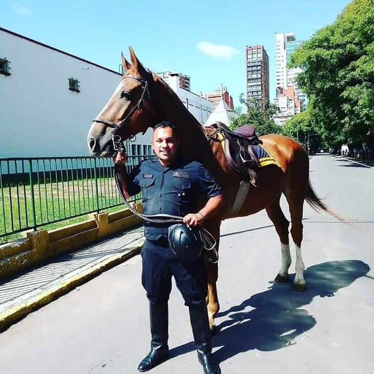 Oficial Roldán, el policía asesinado a sangre fría