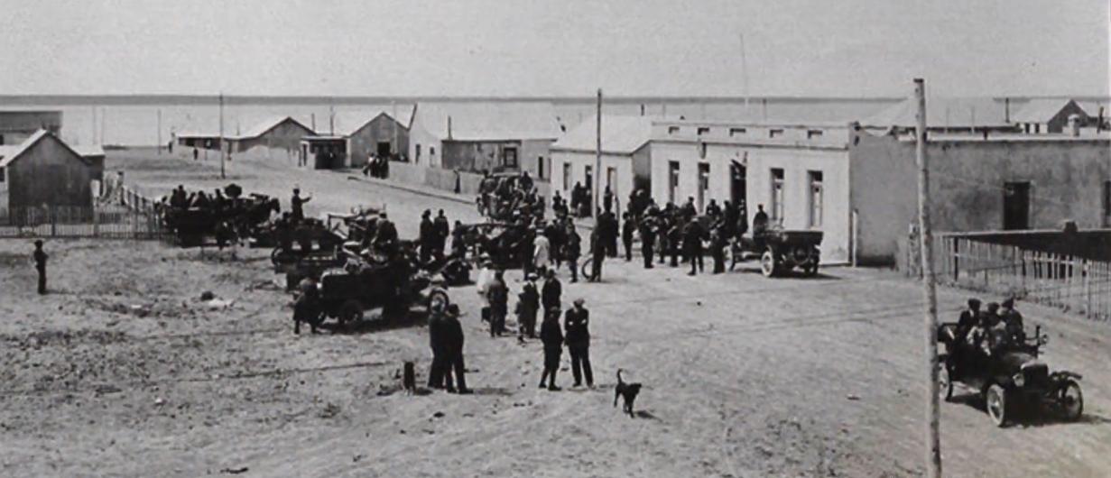 La comisaría en la década del 20'.