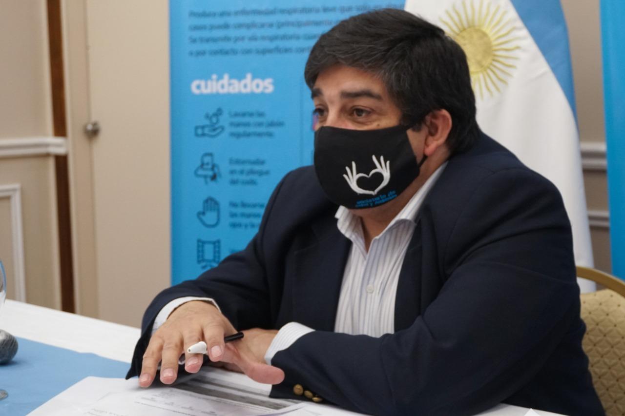 Ministro de Salud y Ambiente de Santa Cruz, Claudio García.