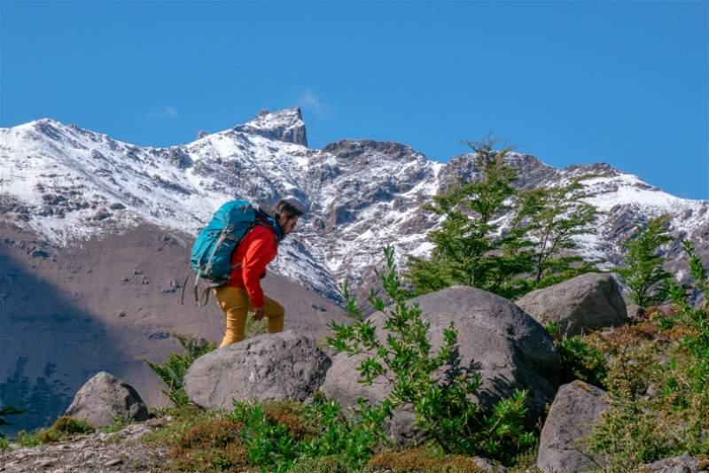 Trekking en Huella de Glaciares.