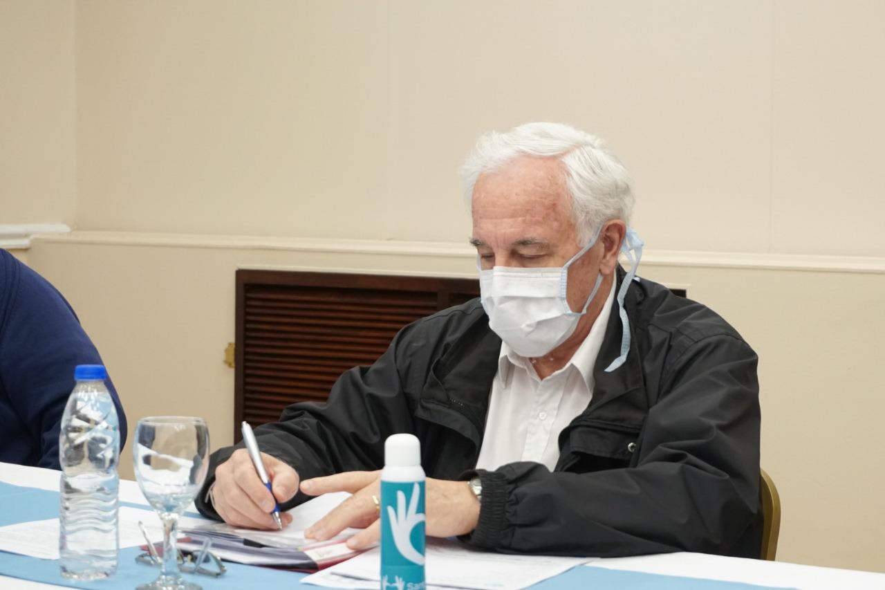 Juan Carlos Nadalich, ex ministro de Salud de Santa Cruz y colaborador del gobierno que conduce Alicia Kirchner.