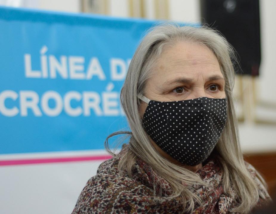Bárbara Weinzettel, ministra de Desarrollo Social.