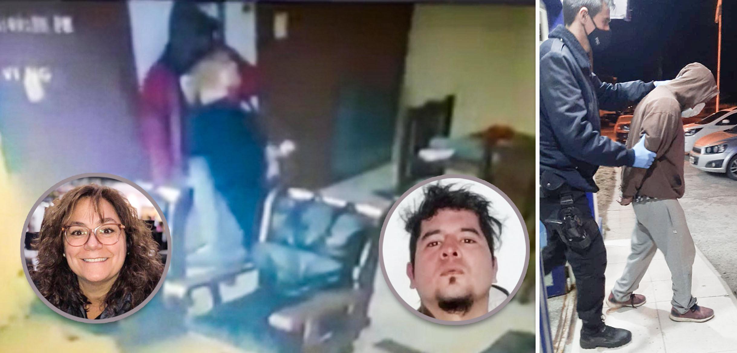 Rodrigo Donaire, el atacante de la mujer de 78 años.