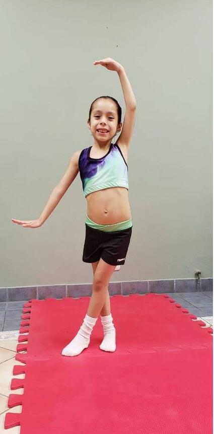 Martina Figueroa: 5 años. 1°.