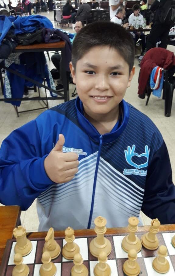 Alex Flores. 12 años. Río Gallegos.