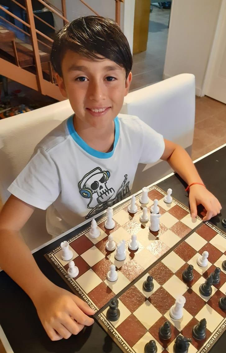 Bautista Chocan Araoz. 10 años. San Julián.