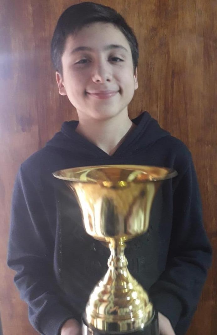 Nicolás Torres. 14 años. Río Gallegos.