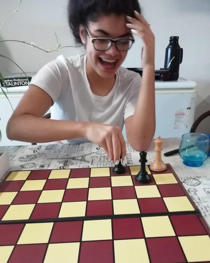Rocío Ortiz. 13 años. Puerto San Julián.