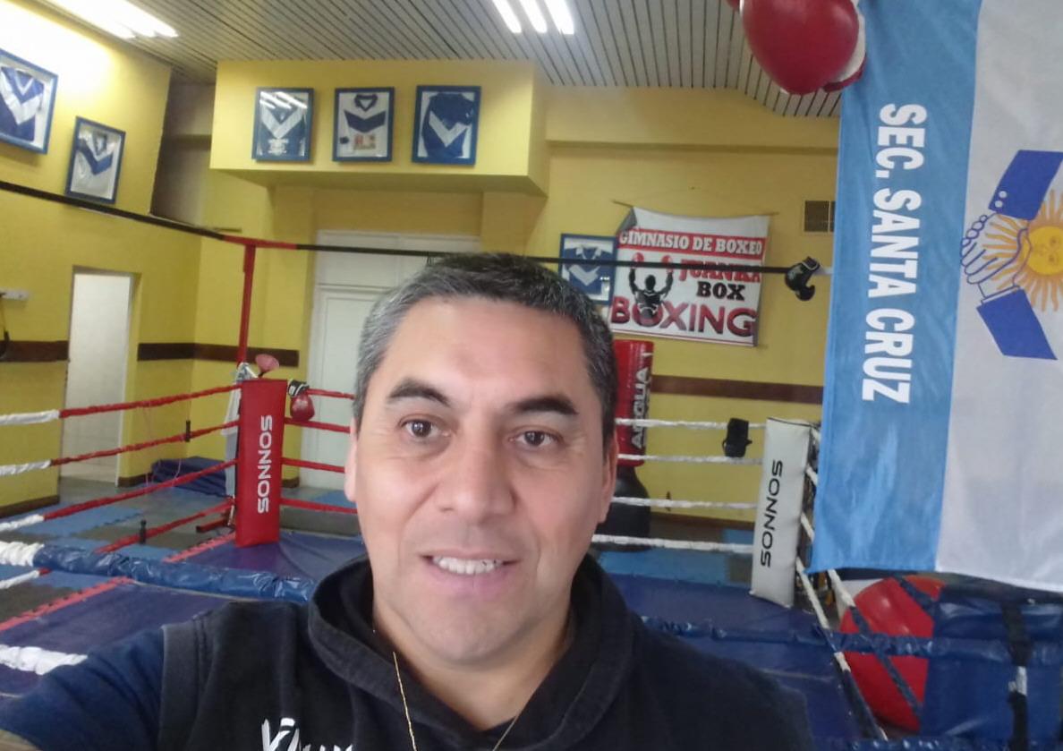 Juan Carlos Treuquil: orgulloso de su proyecto deportivo.