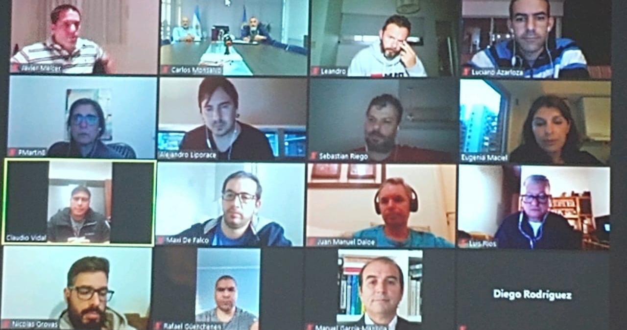 La audiencia de CEOPE, CEPH y Petroleros Privados de Santa Cruz.
