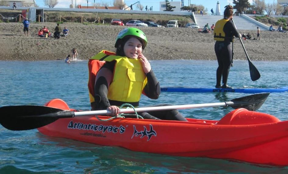 Clases de kayac para todos.