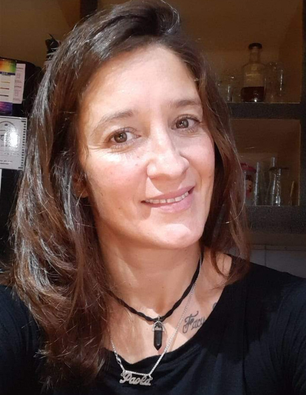 Paola, desde San Julián, superó el virus y ya retomó el trabajo.