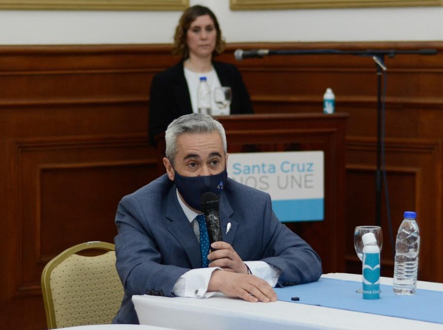 Carlos Ramos, presidente del Tribunal de Cuentas.