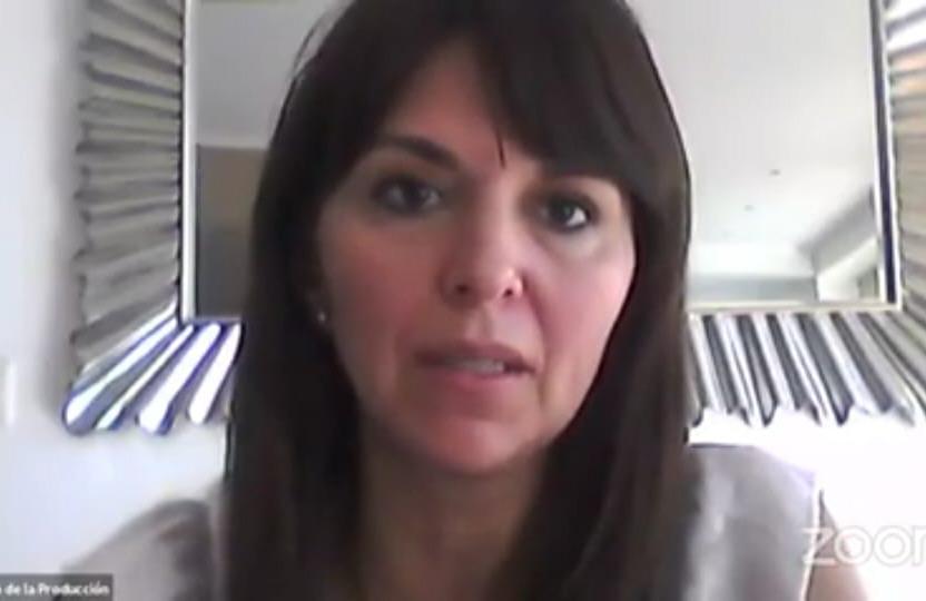 La ministra de Producción, Comercio e Industria, Silvina Córdoba.