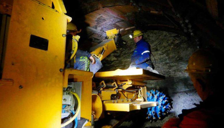 Durante la administración de Cambiemos, los mineros mantuvieron en pie a la empresa.