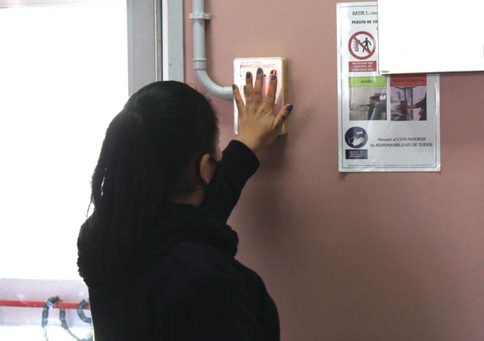 El nosocomio cuenta con un nuevo puesto de control. FOTO: DAVID CAPITANELLI