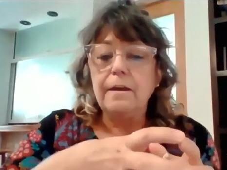Cristina Storioni, ministra de Educación de Neuquén.