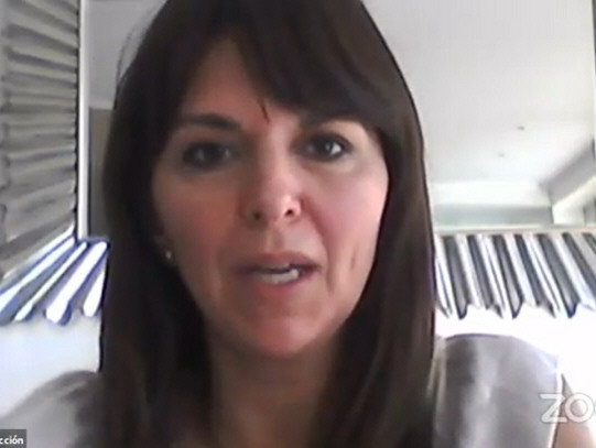 Silvina Córdoba, ministra de la Producción de Santa Cruz.