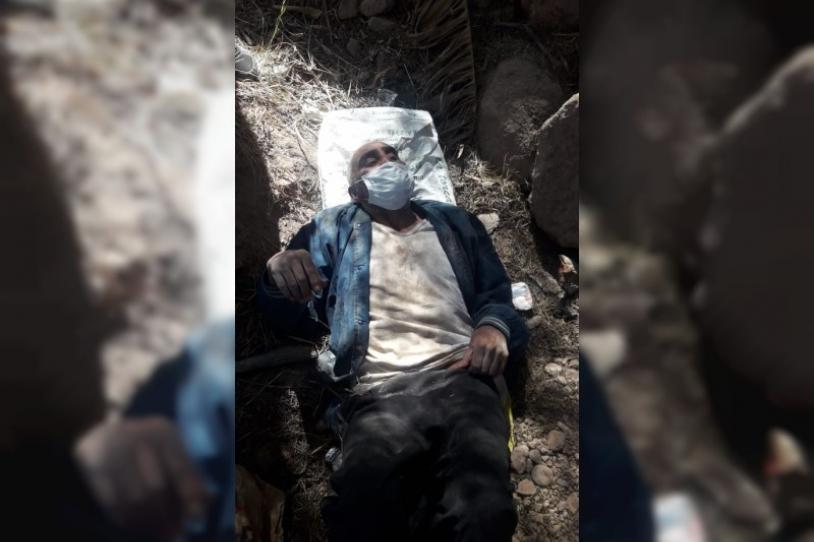 'Potrillo' presenta un cuadro de deshidratación por lo que fue trasladado a un centro asistencial. FOTO: LABORANTI NEWS