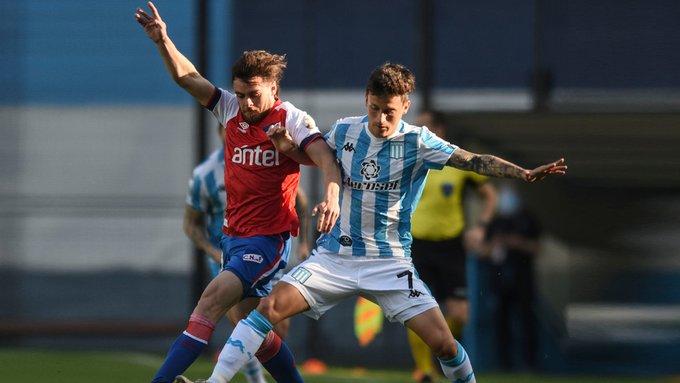 Fecha 3: Racing perdió en el Cilindro 1-0 ante Nacional de Uruguay.