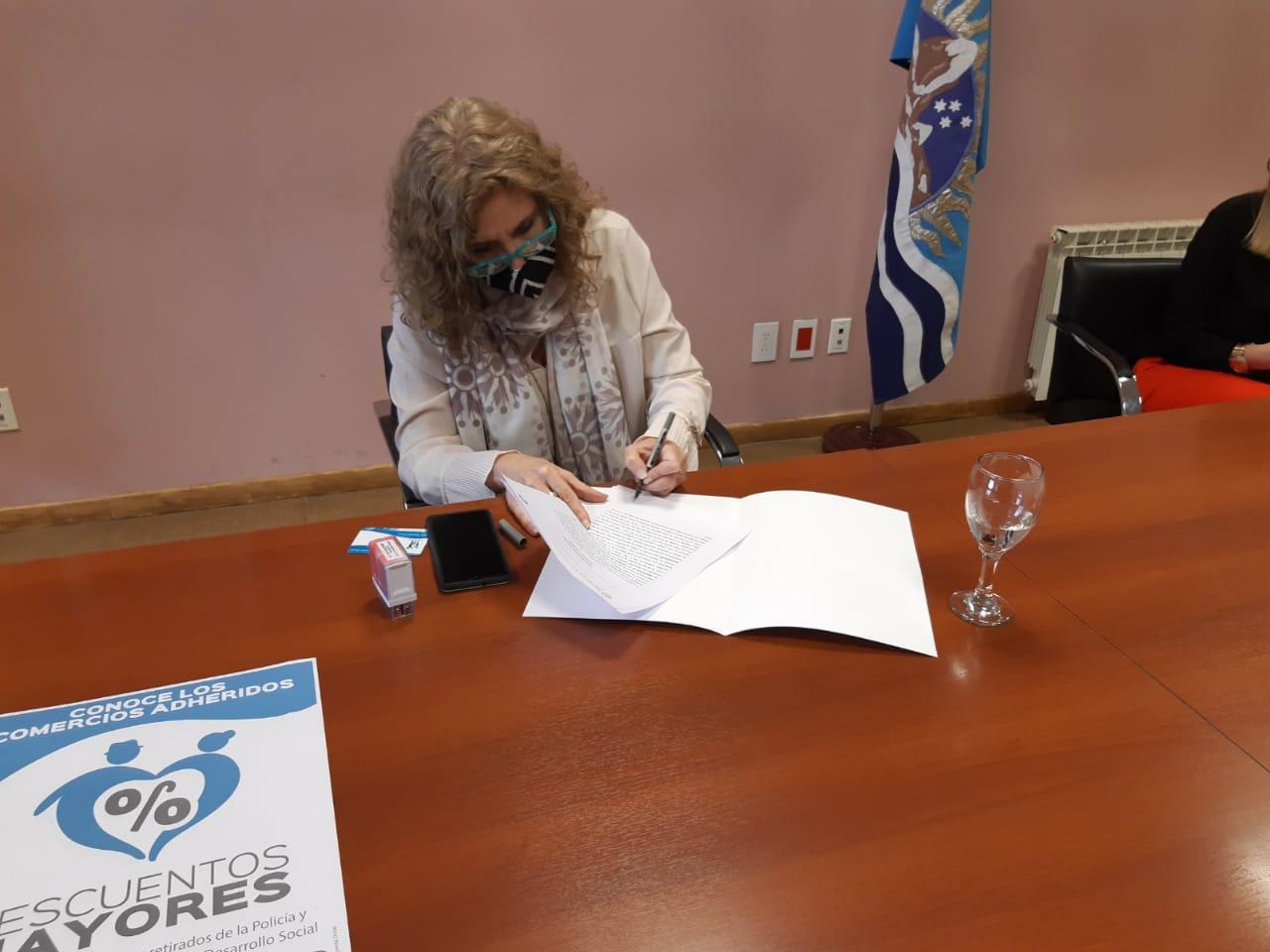 Silvia Bande, presidenta de la Caja de Previsión Social de Santa Cruz.