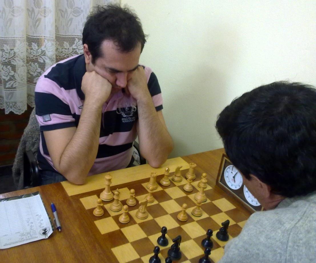 Año 2010, torneo de la ADAR con Julio Díaz como rival.