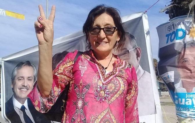 Ameri seráreemplazado por Alcira Figueroa, antropóloga, docente universitaria y militante delfeminismo.