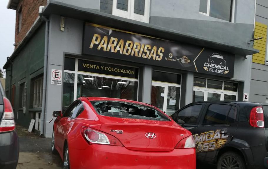 El día después del hecho en el Hotel Patagonia, Conte llevó su auto a arreglar. La reparación costó cientos de miles de pesos